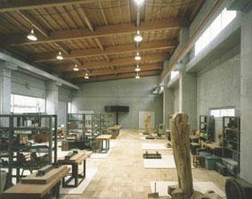 多摩美術大学八王子キャンパス計画 木彫棟